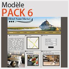 creer un site h�tel de luxe pack 6