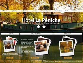Hôtel la Péniche