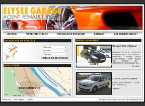 Exemple site automobile modle pour la cration de site auto - Garage renault sainte foy les lyon ...