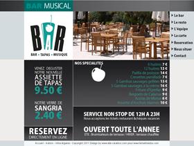 Bar musical Le Petit Bar