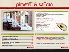 Piment et Safran