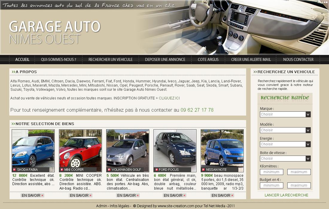 exemple site automobile modle pour la cration de site auto. Black Bedroom Furniture Sets. Home Design Ideas