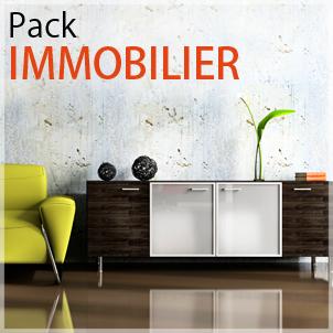créer site à l'aide d'un site en pack immobilier