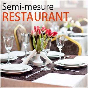 créer site à l'aide d'un site semi mesure restaurant